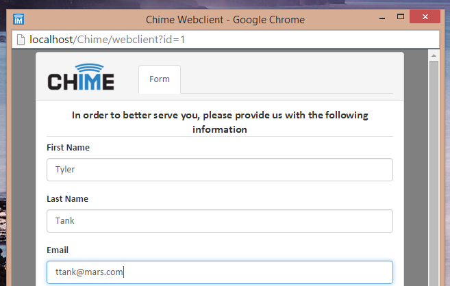 Tour | Chime for Lync / Skype for Business